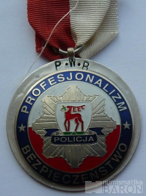 Polsko - policejní vyznamenání