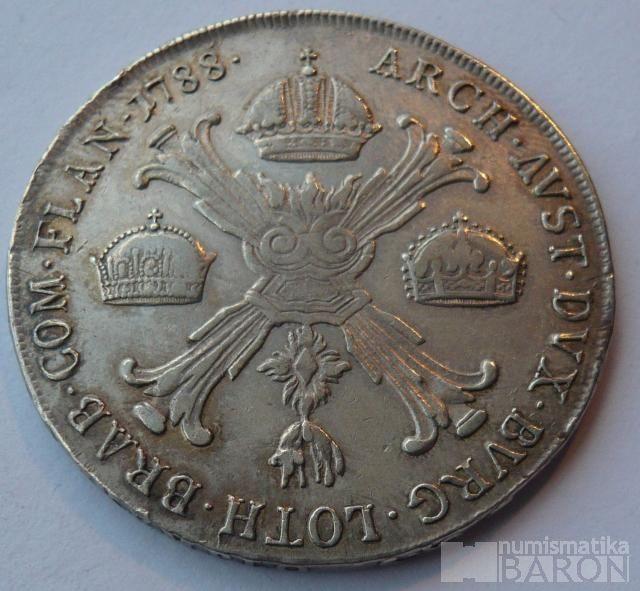 Rakousko Tolar křížový 1788 A Josef II.