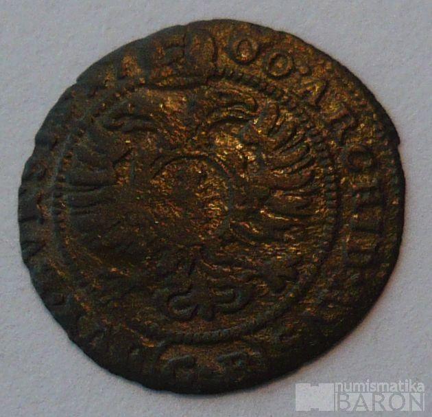 Slezsko - CB 1 Krejcar 1700Leopold I.