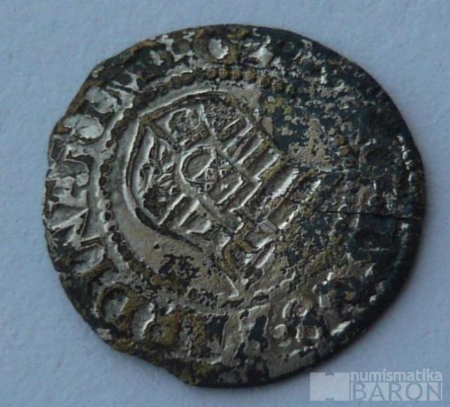 Uhry Denár bez letopočtu 1526-64 Ferdinand I.