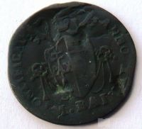 Vatikán 1/2 Baiocco 1816