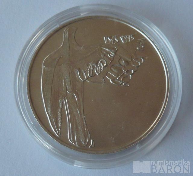 200 Kč(1995-Fašismus), stav 0/0, kapsle, certifikát