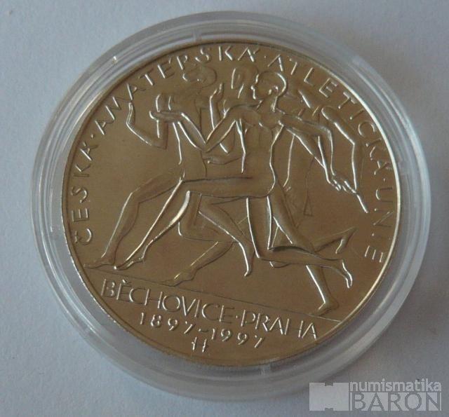 200 Kč(1997-Běchovice), stav 0/0, kapsle