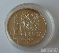 200 Kč(1999-VÚT), stav 0/0, kapsle
