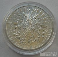 200 Kč(2000-počátek tisíciletí), stav 0/0, kapsle, certifikát
