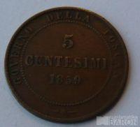 Itálie - Toskánsko 5 C 1859