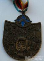 NSR medaile na cvičení NATO