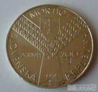 Slovensko 200 Ks 1994 den D