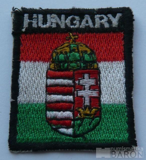 Maďarsko nášivka národních gard
