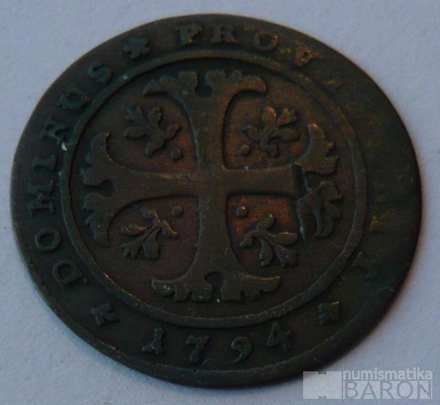 Švýcarsko 1/2 Batren 1749 BERN