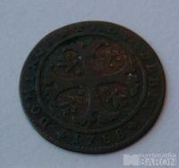 Švýcarsko 1/2 Batren 1788 BERN