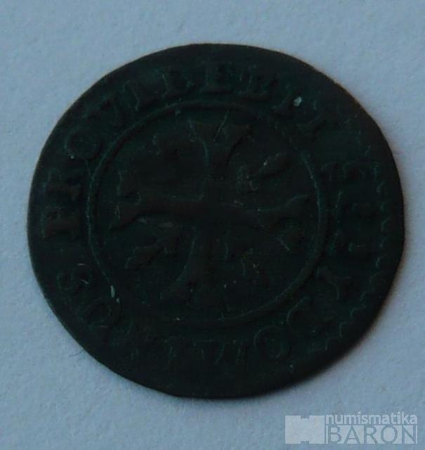 Švýcarsko 1/2 Krejcar 1775 BERN