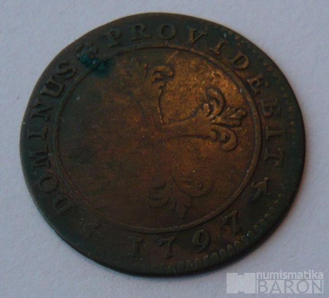 Švýcarsko Batren 1797 BERN