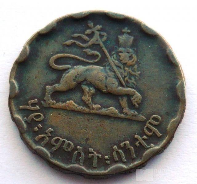 Ethiopie 25 Cent 1936