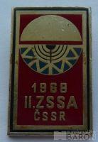II.zimní spartakiáda spřátel.armád 1969-červený