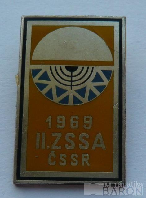 II.zimní spartakiáda spřátel.armád 1969-zlatý