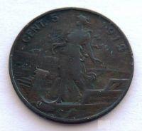 Itálie 5 Centesimi 1912