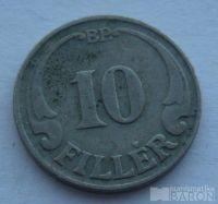 Maďarsko 10 Fillér 1927