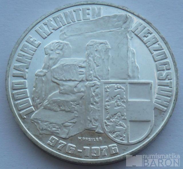 Rakousko 100 Schilling - 1000 let 1976