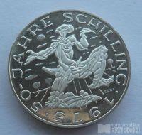 Rakousko 100 Schilling 50let Schillingu 1975