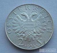 Rakousko 2 Schilling - Dolfus 1934