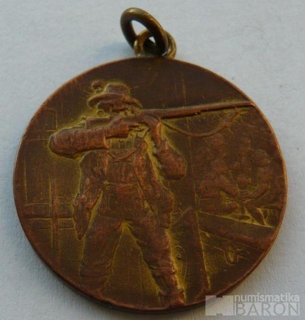 Rakousko střelecká medaile - bez udělení