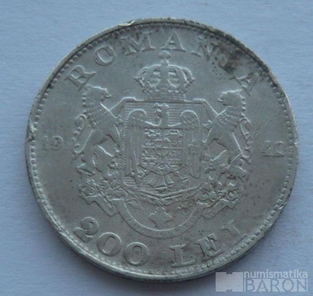 Rumunsko 200 Lei 1942