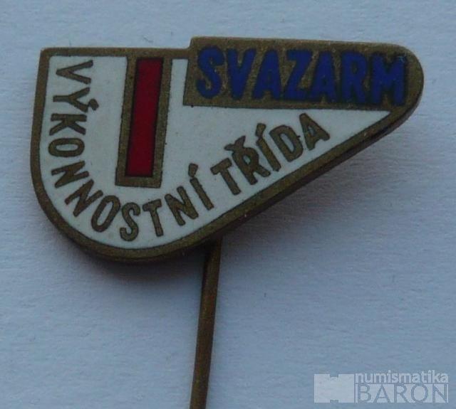 Svazarm-výkonnostní odznak 1.tř.