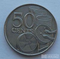 Trinidad a Tobago 50 Cent 1979