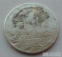 Uhry korunovační peníz 1830 František