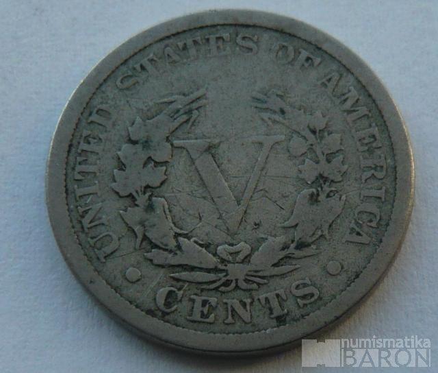 USA 5 C 1883