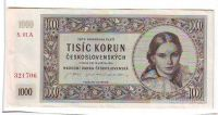 1000Kčs/16.5.1945/, stav 1-, série 01 A