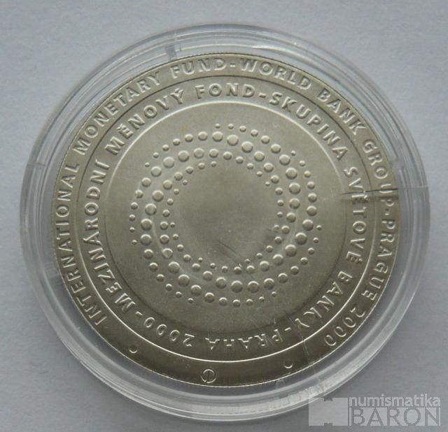 200 Kč(2000-MMF), stav 0/0, certifikát