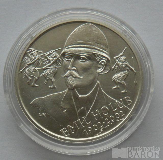 200 Kč(2002-Holub), stav 0/0, certifikát