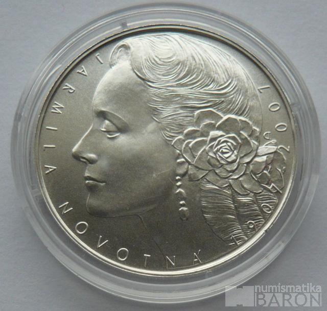 200 Kč(2007-Novotná), stav 0/0, certifikát