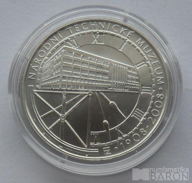 200 Kč(2008-muzeum), stav 0/0, certifikát