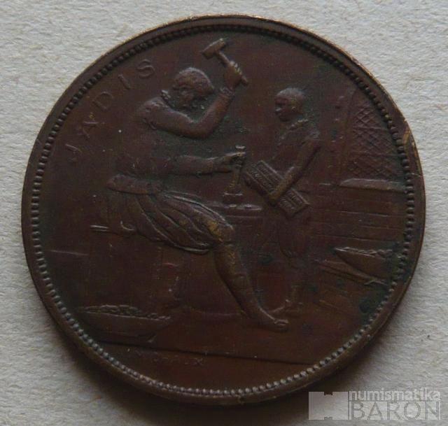 Brusel - ražba mincí - středověký razič