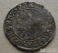 Čechy -Praha 3 Krejcar 1634 Ferdinand II.