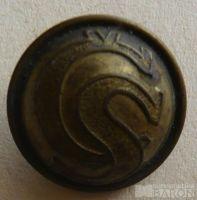 ČSR - vojenský knoflík CS