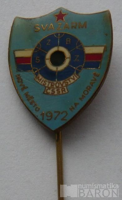 ČSSR - Svazarm 1972 - Nové Město na Moravě