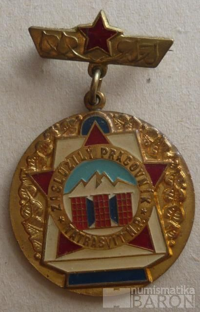 ČSSR - Zasl.pracovník Tatrasvit