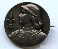 Francie - odznak Jana z Arsu