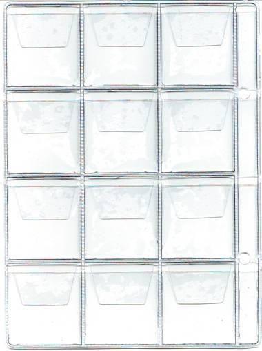 List do alba na mince BARON 2, 12 kapsiček-střední