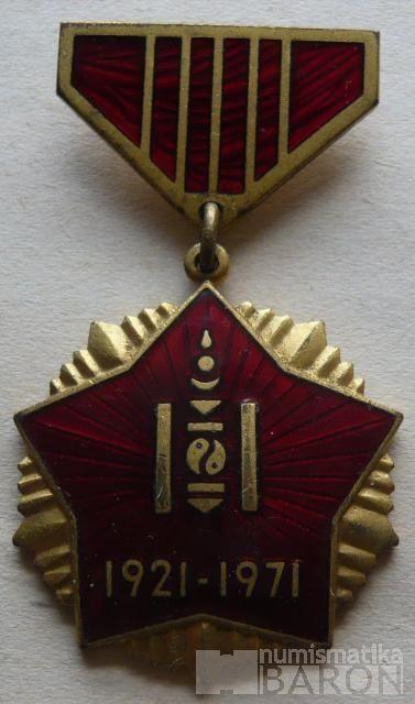 Mongolsko - Za vítězství 1921-71