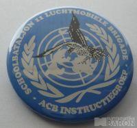 OSN - baretový odznak - modrý smalt