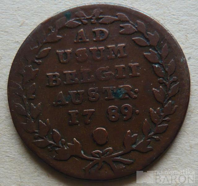 Rak. Nizozemí 2 Liard 1789 Josef II.