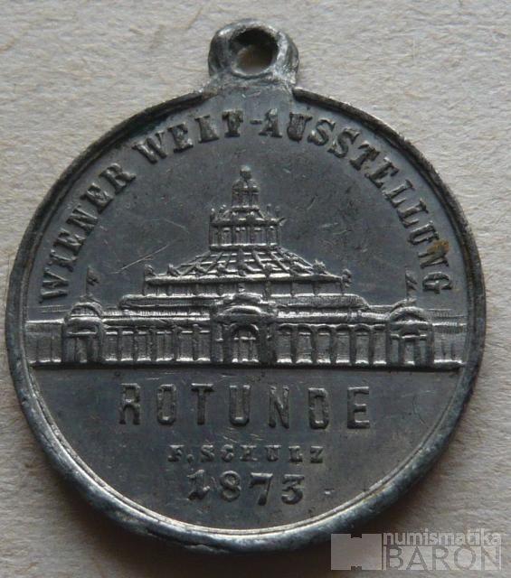 Rakousko - rotunda 1873 Al FJI
