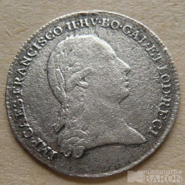Rakousko - Stříbrný holdovací žeton 1796 František II.