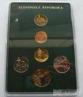 Ročníková sada oběžných mincí SR (2004), stavy 0/0