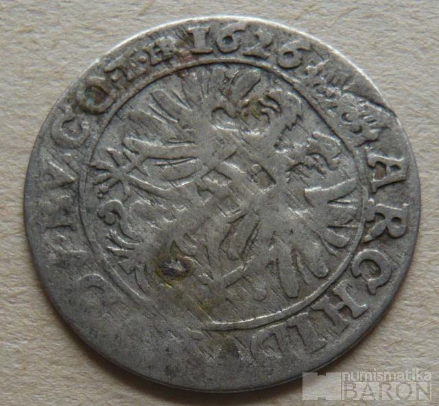Slezsko - Vratislav 3 Krejcar 1626 Ferdinand II